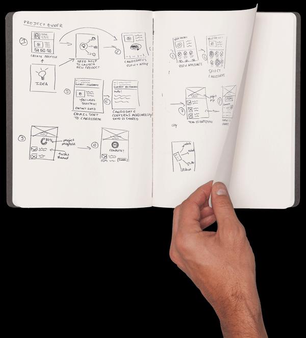 Brainstorm Software Moleskin